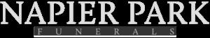 Napier Park logo light text